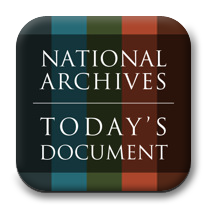 The National Archives' Today's Document is available via iPhone, iPad, and Android Platform