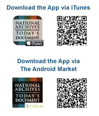 Download The National Archives' Today's Document