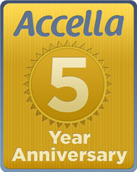 Accella's Five Year Anniversary