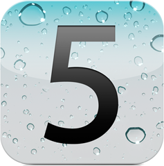 Apple iOS5 Logo