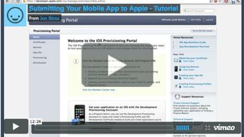 Apple App Submission Thumbnail