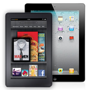 iPad 2 & Kindle Fire