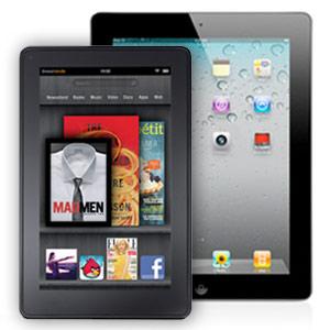 iPad 2 & Kindle Fire