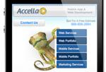 Accella's Mobile Site