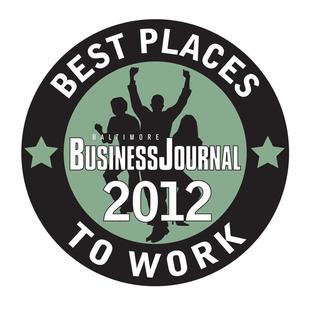 Business Journals Best Places to Work 2012: Baltimore