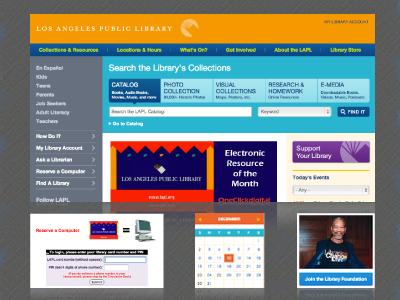 Los Angeles Public Library - Municipal Library | Accella