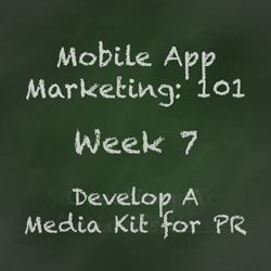 Mobile App Marketing Tip - Creating a Press Kit