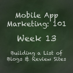 Mobile App Marketing Tip - Building a Media List