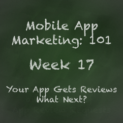 Mobile App Marketing Tip - What To Do Once You Get Some Reviews