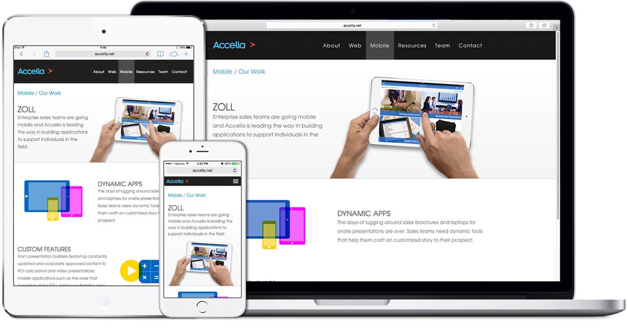 accella responsive design example